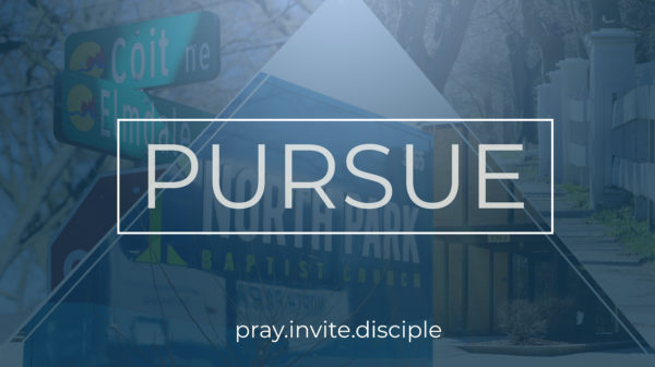 Pursuing; Making Disciples Image