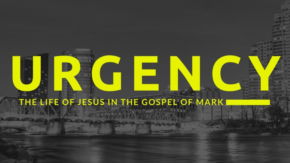 Urgency: The Life of Jesus in the Gospel of Mark